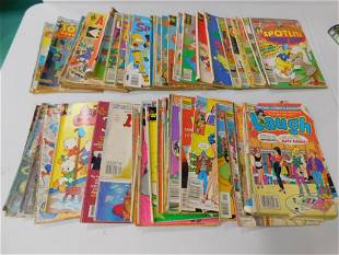 Vintage Comic Books incl Tom and Jerry , Archie ,