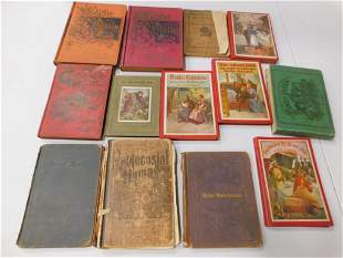 13 Antique German Books