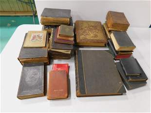Antique German Books incl Many Religious