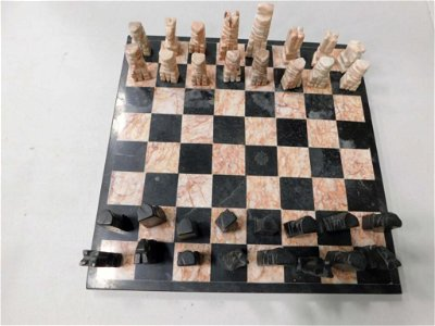 Onyx Chess Set Complete