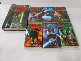 Legacy of the Force Book Set 1 Hardcover and 6