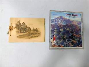 Lot of Vintage Ephemera incl 1925 Pikes Peak Picture