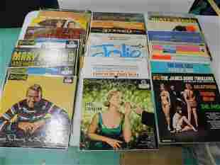 Lot of Approx 35 Vinyl Records incl Frank Sinatra ,