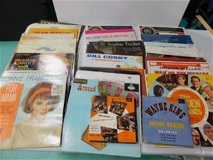 Lot of Vinyl Records incl Pat Boone , Connie Fancis ,