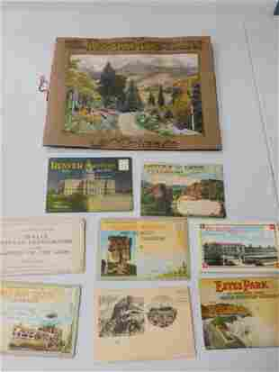 Vintage Ephemera incl 8 Vintage Foldout or Multi Page