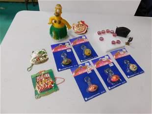 Bart Simpson Hula Figure , Creature Rings , Freak Ball