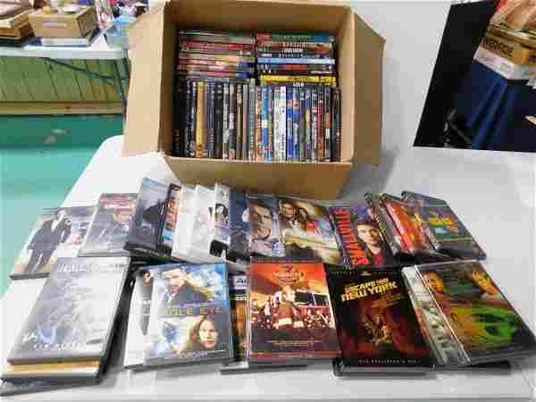 70+ DVDs incl Action Movies , includes James Bond 007