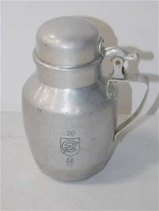 German World War 2 Aluminum Pitcher