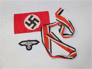 WWII German Ribbons, patches, etc.