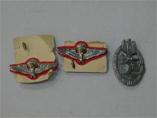 Lot of 3 WWII German Pins