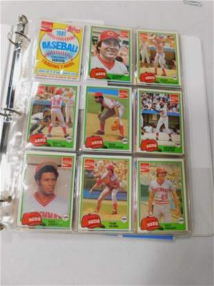 Binder of approx 103 Baseball Cards incl Coca Cola