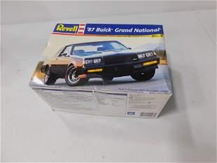 Revell 1987 Buick Grand National 1:24 Scale Model Kit