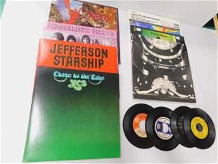 Lot of Vinyl Records incl Santana , Jefferson Airplane