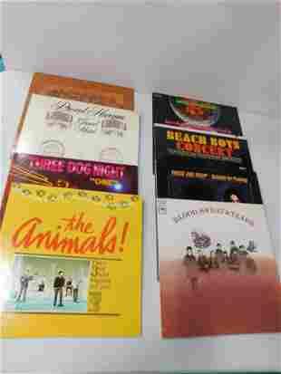 Lot of 8 Vinyl Records incl Fever Tree , Procol Harum ,
