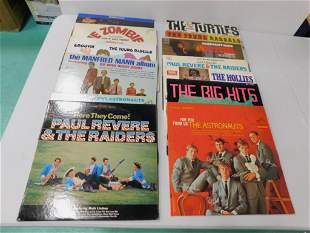 Lot of Vinyl Records incl Bee Gees , Zombies , Young