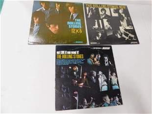 Lot of Rolling Stones Vinyl Records