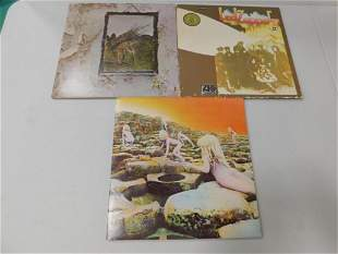 Lot of Led Zepplin Vinyl Records