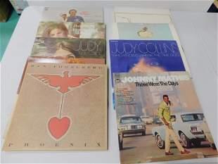 Lot of Vinyl Records incl Donovan , Judy Collins , Dan