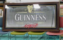 Large Guinness Beer Mirror