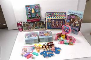 5-Sies Fiveseis Quints Mini Dolls Set NIB , MGA