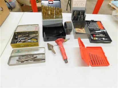 Lot of Drill Bits and Tools