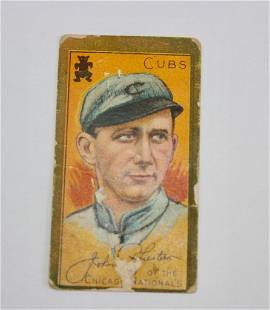 T205 Sweet Caporal John Pfiester Tobacco Card