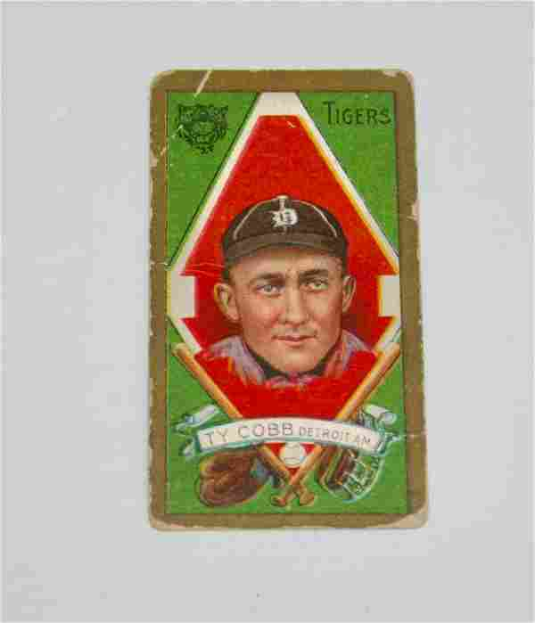 T205 Piedmont Ty Cobb Tobacco Card