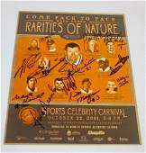 Rarities of Nature Signed Program with 12 Signatures