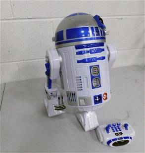 Star Wars R2 D2 Interactive Robot Remote Control Toy