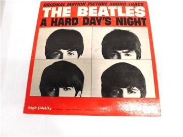 The Beatles A Hard Day's Night Record Album I Cry