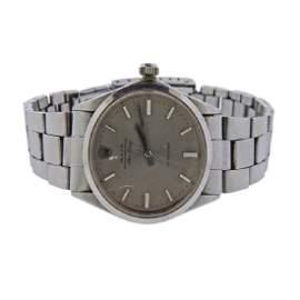 Rolex Air King Precision Steel Watch 5500