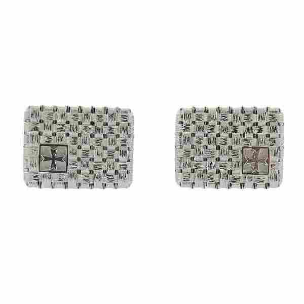 Vacheron Constantin Platinum 18K Gold Cufflinks