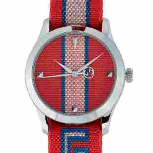 Gucci GTimeless Red and Pink Watch YA1264070