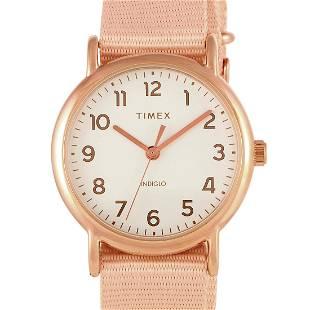 3 Pack - Timex Weekender 38mm Rose Gold Watch