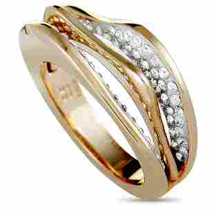 10 Pack - Swarovski Plated Crystal Ring Sz 6.75