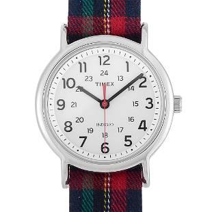 3 Pack - Timex Weekender Plaid Watch