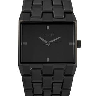 3 Pack - Nixon Ticket II All Black 34mm Watch