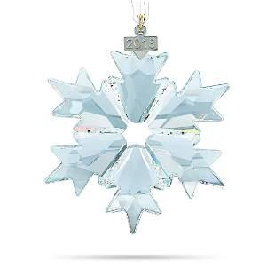10 Pack - Swarovski 2018 Snowflake Ornament