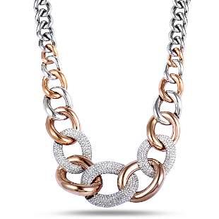 3 Pack - Swarovski Crystal Pave Necklace