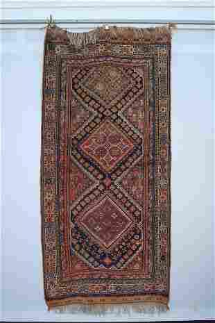 Qashqai Rug Rare Kilim Pattern