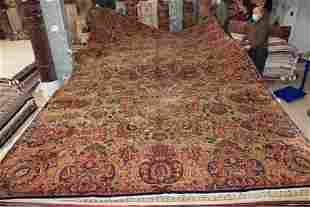 Palace Size Lavar Kirman Carpet