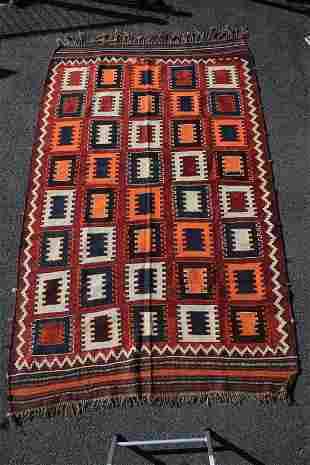 Qashqai Kilim Comb Design