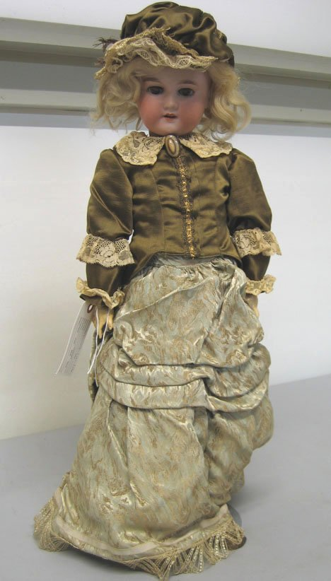 "4005: Armand Marseille Floradora"" bisque head doll, , M"