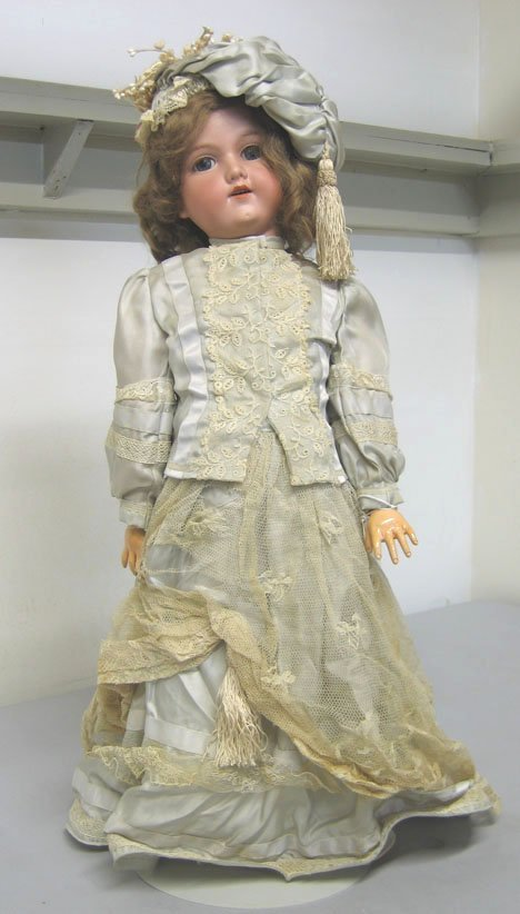 4006: Armand Marseilles bisque head doll, , Marked: Mad
