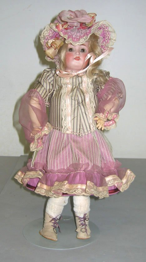 4007: Kestner bisque head doll, , Stamped: a 1/9 Made i