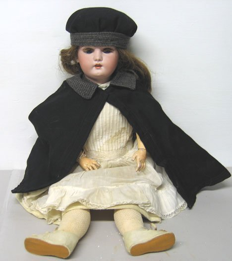4012: Simon & Halbig German Bisque Head Doll, , Stamped