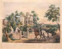 558 FRANCES F Fanny PALMER AMERICAN 18121876 AM