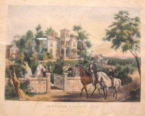 558: FRANCES F. (Fanny) PALMER (AMERICAN, 1812-1876) AM