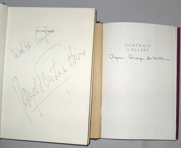 1002: 2 vols. (Signed Books.) Dance: Fonteyn, Margot. A