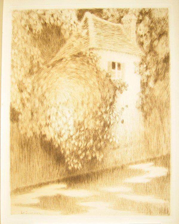 1004: 1 vol. Mauclair, Camille. Henri Le Sidaner. Paris